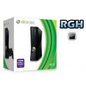 Xbox 360 Slim 4GB usata modificata con RGH + FSD3 ITA + Pack emulatori + Freeboot 17511 + Aggiornamento Avatar