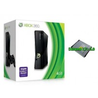 Xbox 360 Slim 4GB con modifica Flash Bios su Lettore DVD + Dashboard 17511+ Avatar Update- Usato Garantito