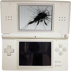 Riparazione schermo superiore Nintendo Ds Lite