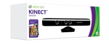 Kinect per xbox 360 + gioco Kinect Adventures