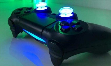 Modifica Ps4 Controller con Led + Analogici trasparenti
