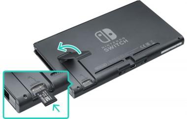 Riparazione Nintendo Switch con slot memoria micro SD rotto