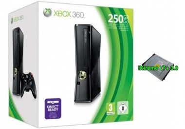 xbox 360 modificata con flash lettore