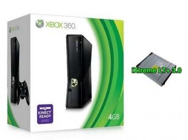 Xbox 360 Slim con memoria da 4GB modificata con Ixtreme Lt+ 3.0 usata