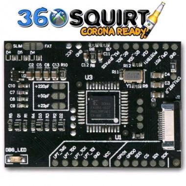 Squirt 1.2 per modifica RGH xbox 360 ed xbox 360 Slim