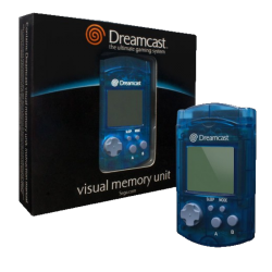 Visual Memory Unit - Sega Dreamcast