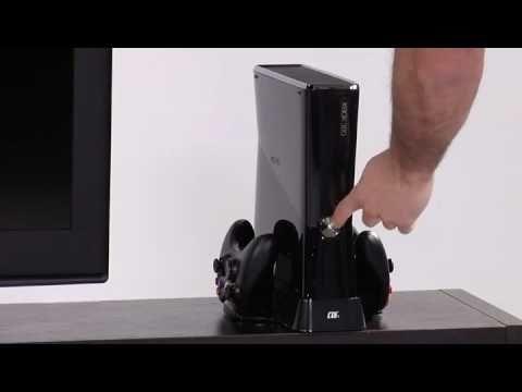 Base di raffreddamento xbox 360 Slim 3 in 1
