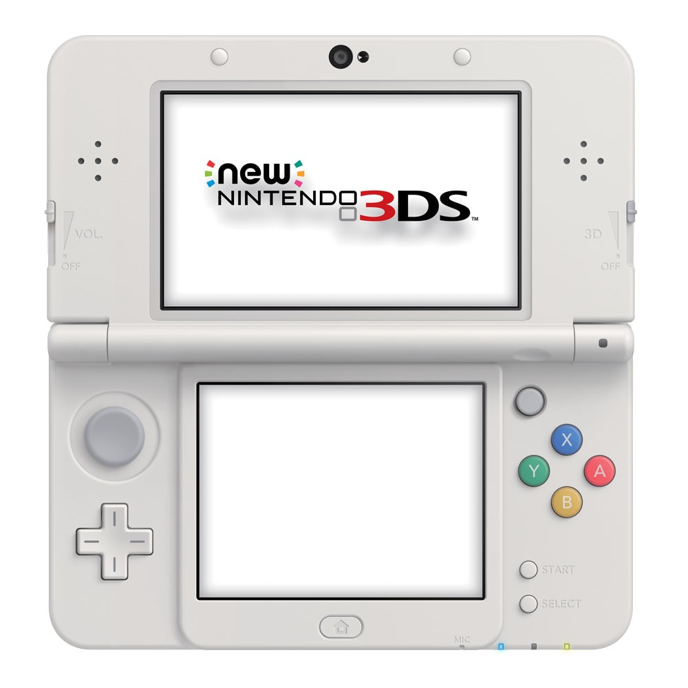 New 3DS con Modifica CFW Luma + Game Loader + Scheda di memoria da 8GB