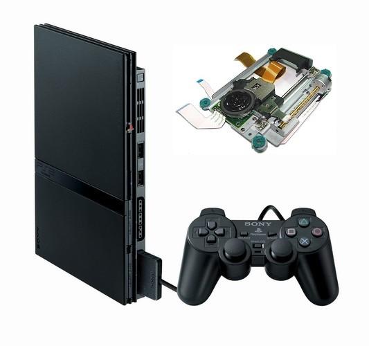 Servizio Riparazione Playstation 2 Slim con lente o lettore guasto o non funzionante