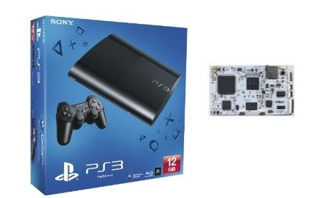 PS3 Super Slim 500GB modificata con E3 ODE Pro + Utility Pack