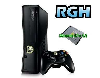 xbox 360 4gb modificata rgh e flash lettore