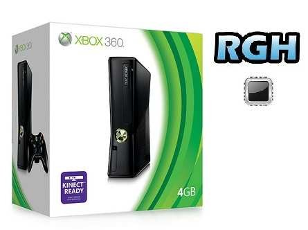 Xbox 360 Slim 4GB usata con modifica RGH pack emulatori di retrogame e Freestyle 3 usato garantito