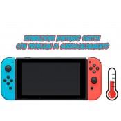 riparazione surriscaldamento nintendo switch
