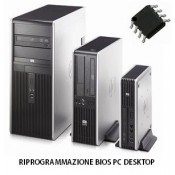 Servizio recupero e riprogrammazione Bios Scheda madre PC Desktop