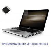 Servizio riprogrammazione e recupero Bios Scheda madre Notebook e Netbook