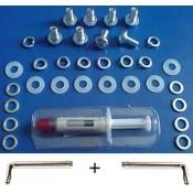 Kit di riparazione 3 Led rossi xbox 360 + Pasta termoconduttiva + Cacciaviti