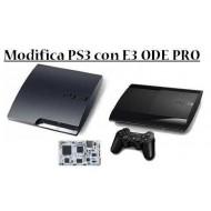 Modifica PS3 slim e super slim con E3 ODE PRO + Multimedia Pack