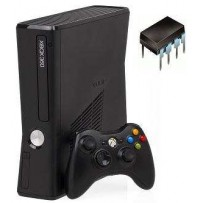 Modifica XBOX 360 Slim Corona con Flash Bios Ixtreme LTU2 con sicurezza Flash del lettore ed ultima Dashboard
