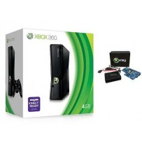 Xbox 360 Slim 4GB modificata con X360KEY ISO Loader + Aggiornamento Dashboard - Usato Garantito