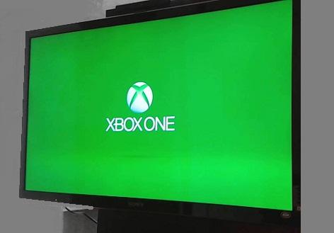 xbox one schermo verde