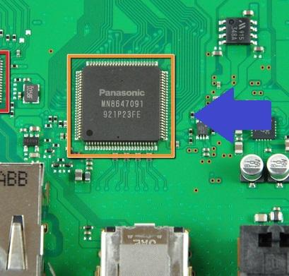 chip che gestisce la connessione hdmi su ps3