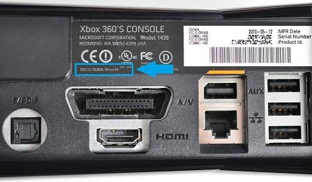 controllare amperaggio xbox 360 Slim