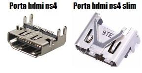 differenza riparazione hdmi ps4 e ps4 slim