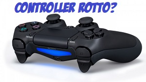 controller ps4 rotto