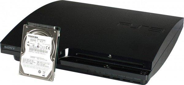 sostituzione hard disk ps3