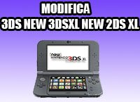 servizio modifica 3ds 2ds new 2ds xl