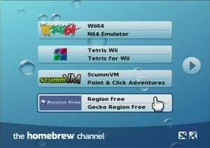 homebrew channel wii